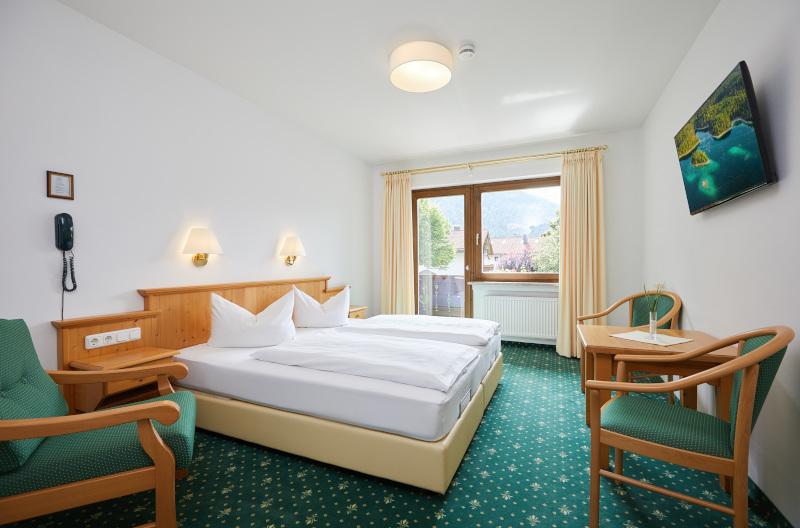 Doppelzimmer mit Südbalkon 2. Bild